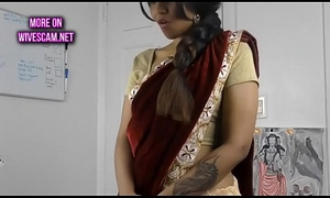 Oversexed south indian sister in law roleplay in tamil with masturbation